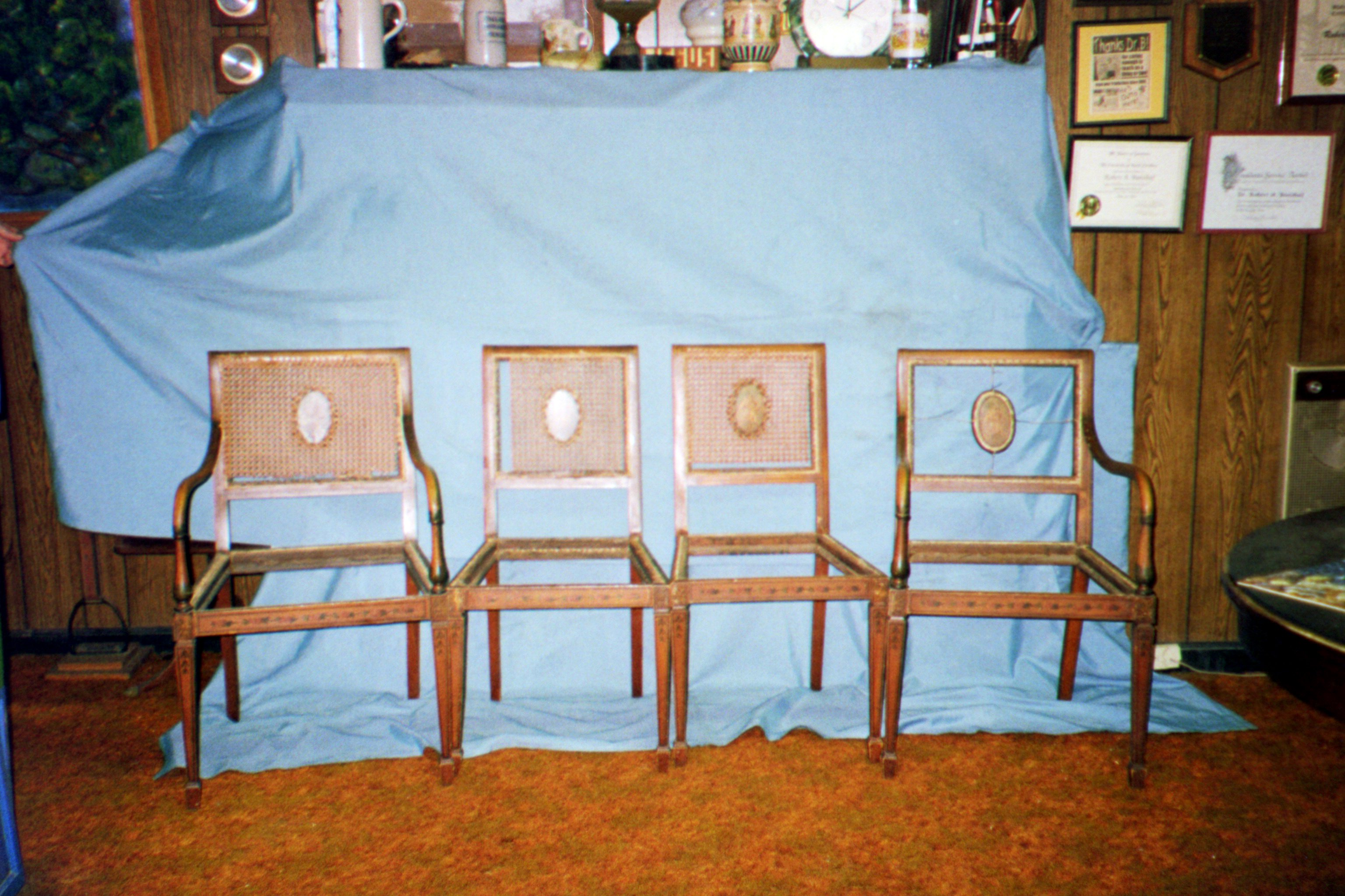 6 chairs longing to be