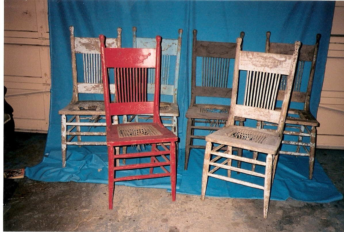 6 chairs longing to